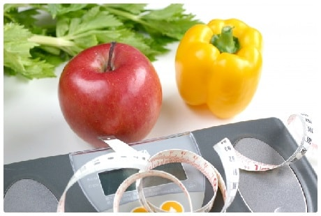 生野菜と果物